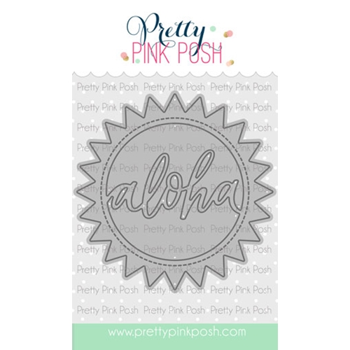 Pretty Pink Posh ALOHA SHAKER Die  Preview Image