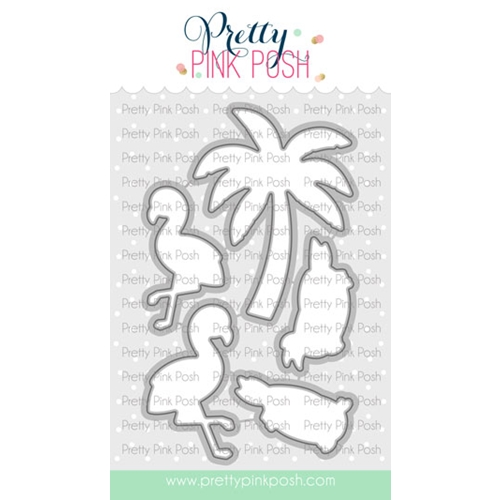 Pretty Pink Posh TROPICAL BIRDS Dies  Preview Image