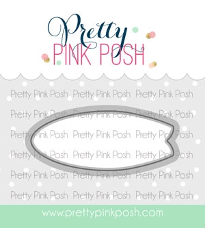 Pretty Pink Posh SUMMER SURFBOARDS Dies Preview Image