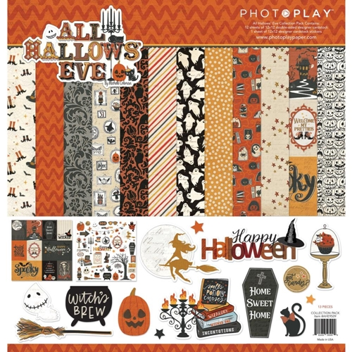 PhotoPlay ALL HALLOWS' EVE 12 x 12 Collection Pack ahe9509 Preview Image