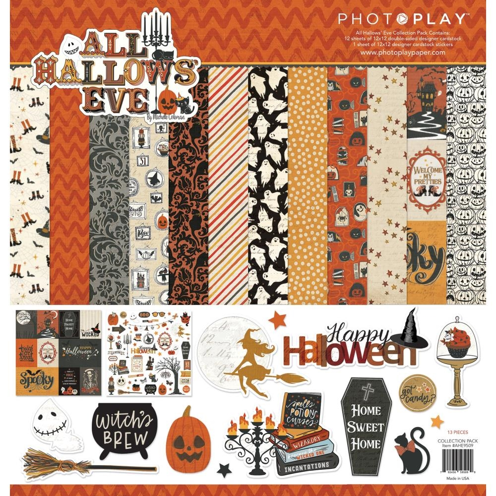 PhotoPlay ALL HALLOWS' EVE 12 x 12 Collection Pack ahe9509 zoom image