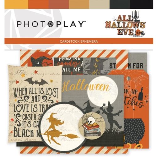 PhotoPlay ALL HALLOWS' EVE Ephemera ahe9510 Preview Image