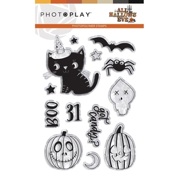 PhotoPlay ALL HALLOWS' EVE Clear Stamps ahe9511