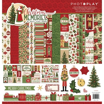 PhotoPlay CHRISTMAS MEMORIES 12 x 12 Collection Pack cmr9491