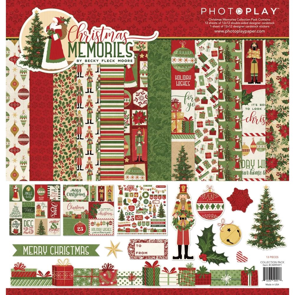 PhotoPlay CHRISTMAS MEMORIES 12 x 12 Collection Pack cmr9491 zoom image