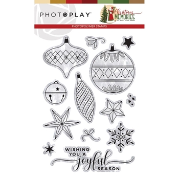 PhotoPlay CHRISTMAS MEMORIES Clear Stamps cmr9494