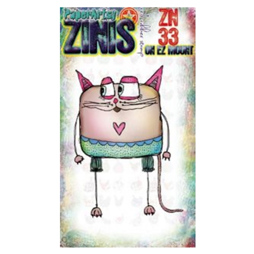Paper Artsy ZINI 33 Maxi Mini Cling Stamp zn33 Preview Image