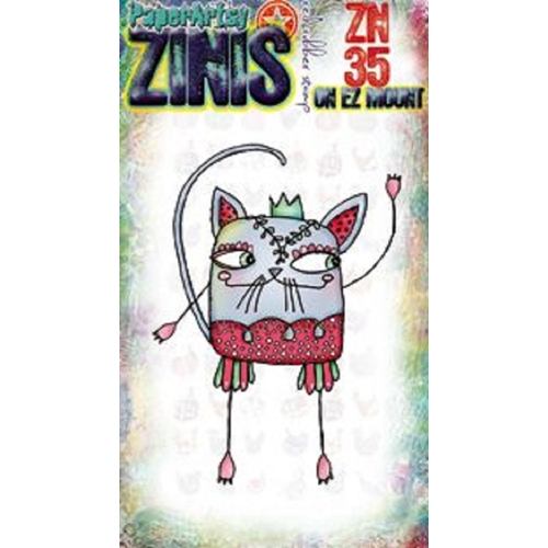 Paper Artsy ZINI 35 Maxi Mini Cling Stamp zn35 Preview Image
