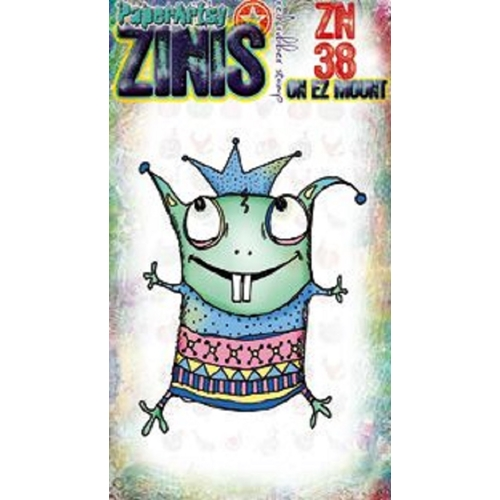 Paper Artsy ZINI 38 Maxi Mini Cling Stamp zn38 Preview Image