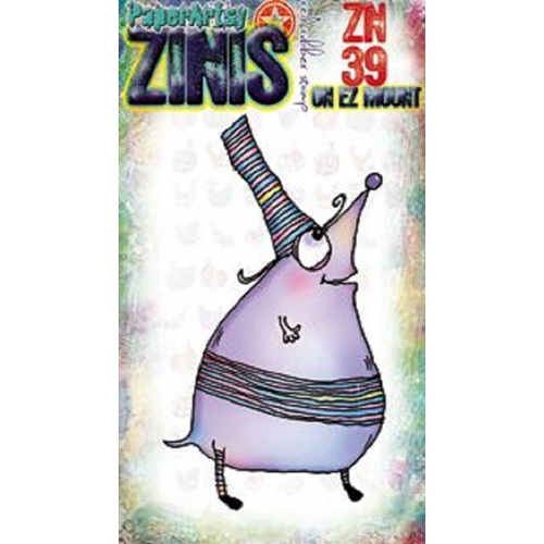Paper Artsy ZINI 39 Maxi Mini Cling Stamp zn39 Preview Image