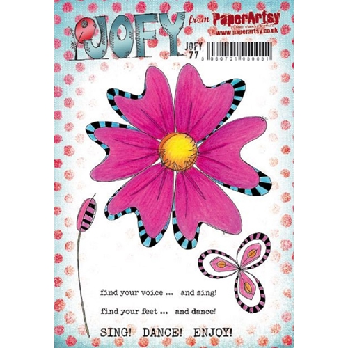 Paper Artsy JOFY 77 Cling Stamp jofy77 Preview Image