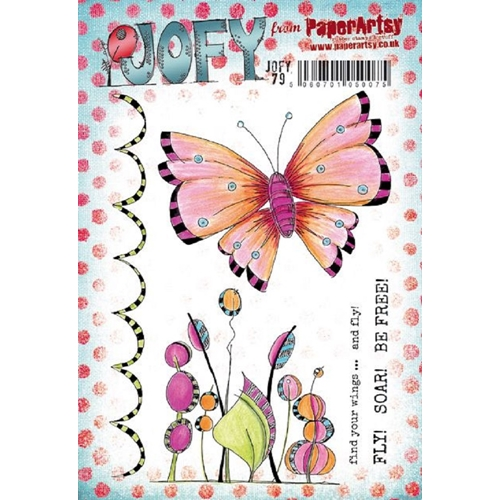 Paper Artsy JOFY 79 Cling Stamp jofy79 Preview Image