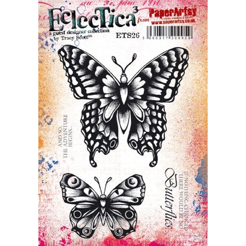 Paper Artsy ECLECTICA3 TRACY SCOTT 26 Cling Stamps ets26 Preview Image