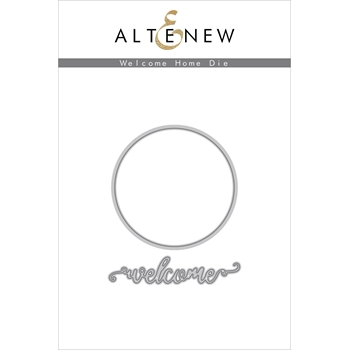 Altenew WELCOME HOME Dies ALT3341