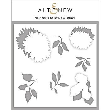 Altenew SUNFLOWER DAISY Mask Stencil ALT3337