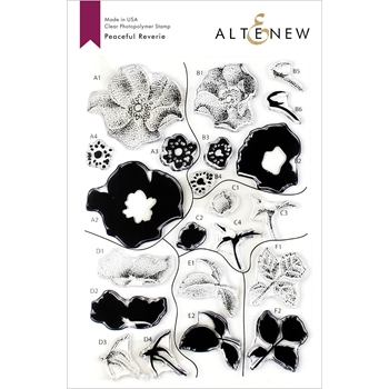 Altenew PEACEFUL REVERIE Clear Stamps ALT3328