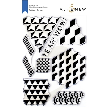 Altenew PATTERN POWER Clear Stamps ALT3327