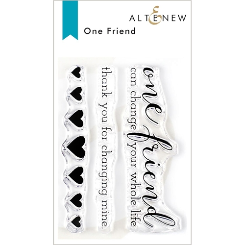 Altenew ONE FRIEND Clear Stamps ALT3326 Preview Image
