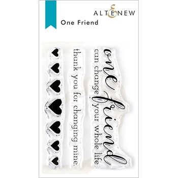 Altenew ONE FRIEND Clear Stamps ALT3326