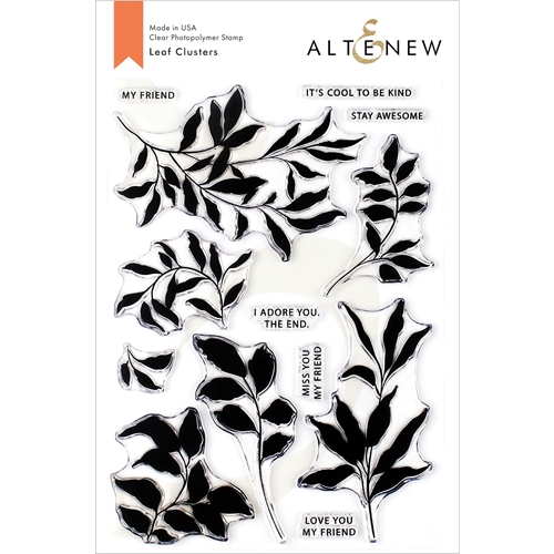 Altenew LEAF CLUSTERS Clear Stamps ALT3323 Preview Image