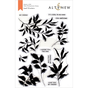 Altenew LEAF CLUSTERS Clear Stamps ALT3323