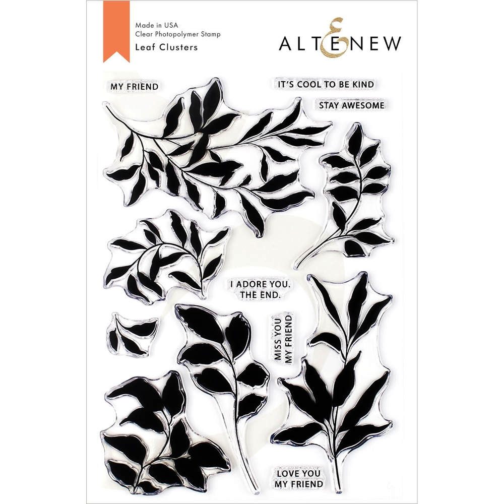 Altenew LEAF CLUSTERS Clear Stamps ALT3323 zoom image