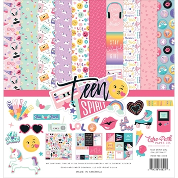 Echo Park TEEN SPIRIT GIRL 12 x 12 Collection Kit tsg184016