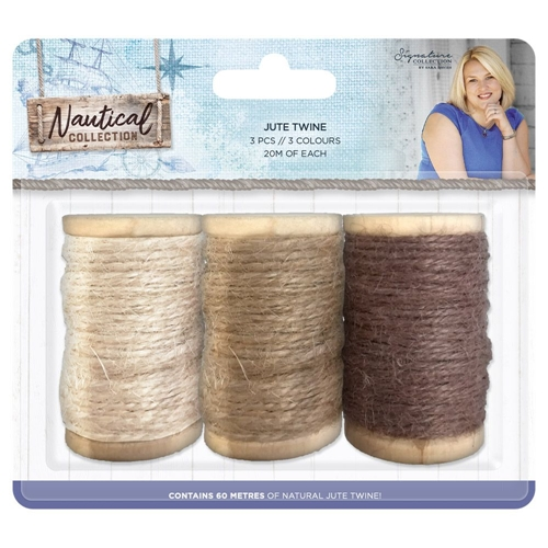 Crafter's Companion NAUTICAL Jute Twine s-naut-twine Preview Image