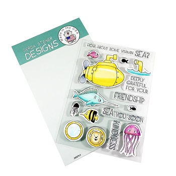 Gerda Steiner Designs DEEPLY Clear Stamp Set gsd694
