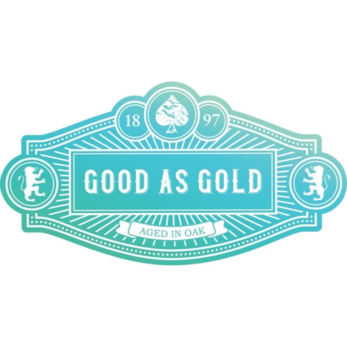 Couture Creations GOOD AS GOLD Clear Stamp * Preview Image