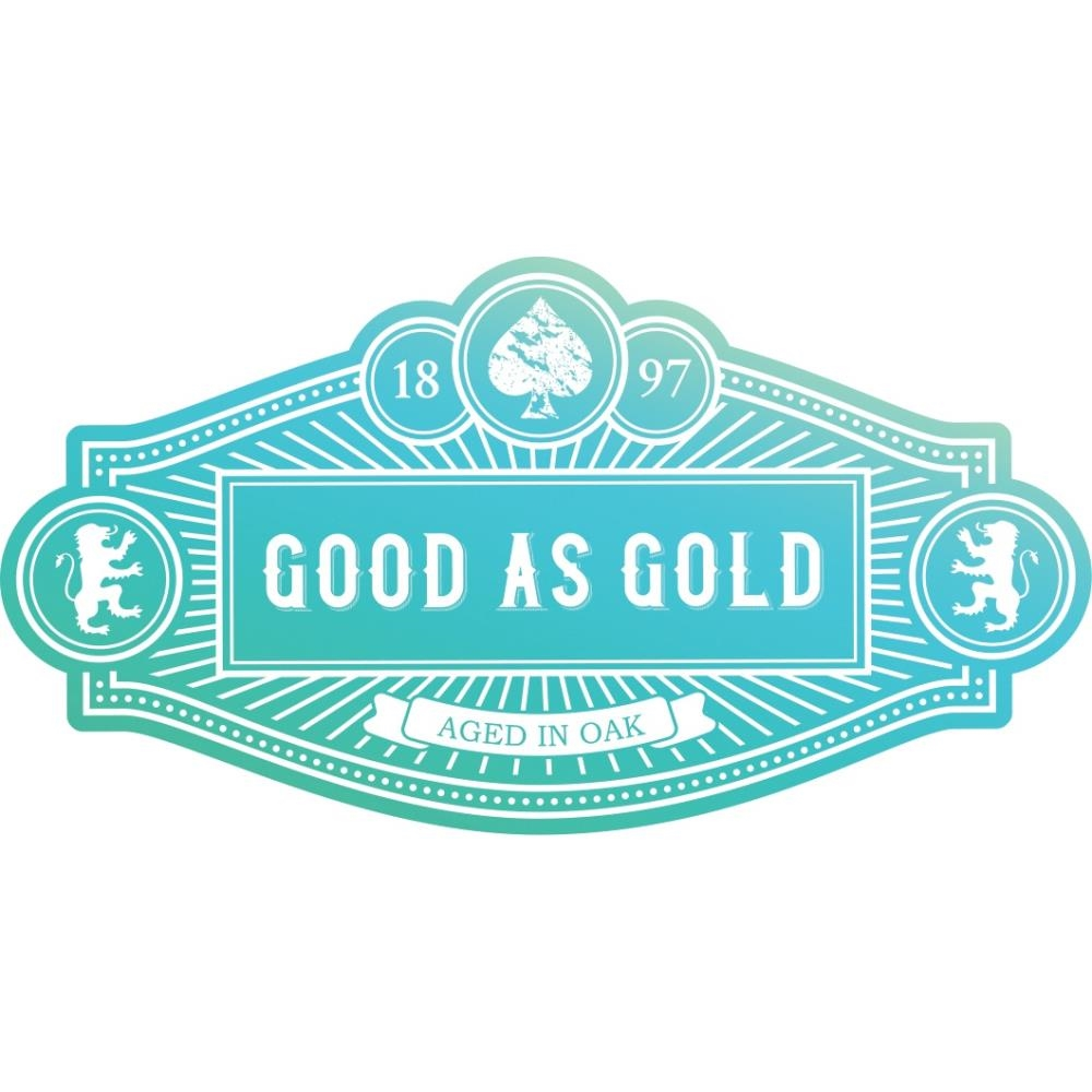 Couture Creations GOOD AS GOLD Clear Stamp * zoom image