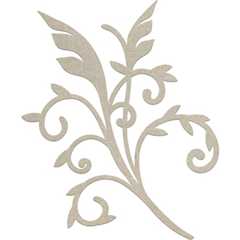 Couture Creations GENTLEMAN'S EMPORIUM FLOURISH Chipboard co726865