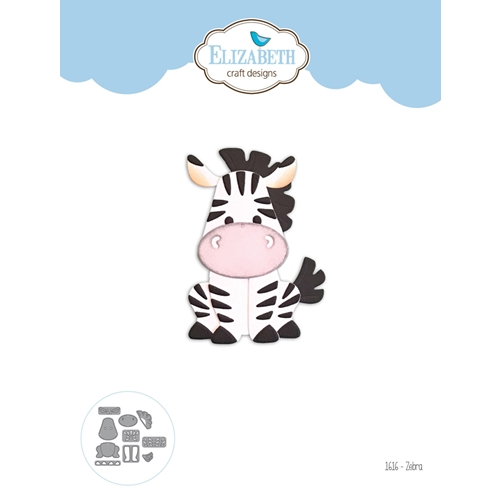 Elizabeth Craft Designs ZEBRA Craft Dies 1616 Preview Image