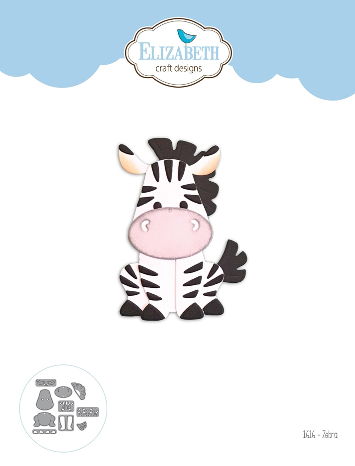 Elizabeth Craft Designs ZEBRA Craft Dies 1616 zoom image