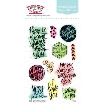 The Greeting Farm YOU Clear Stamps TGF493