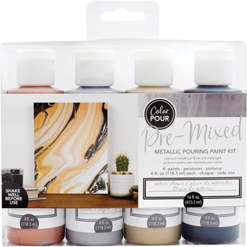 American Crafts Color Pour METEOR SHOWER Paint Kit 353826