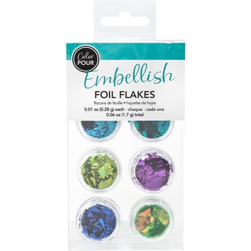 American Crafts Color Pour COOL Foil Flakes 353813 Preview Image