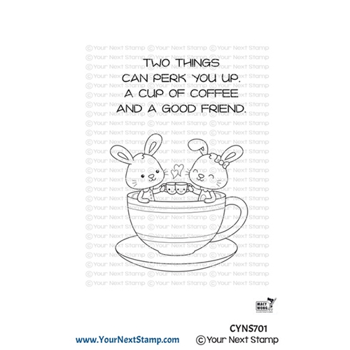 Your Next Stamp COFFEE CUTIES Clear cyns701 Preview Image