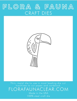 Flora and Fauna TOUCAN Die 30113 Preview Image