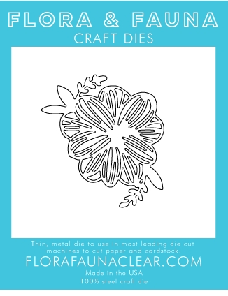 Flora and Fauna SUMMER FLOWER Die 30111 Preview Image