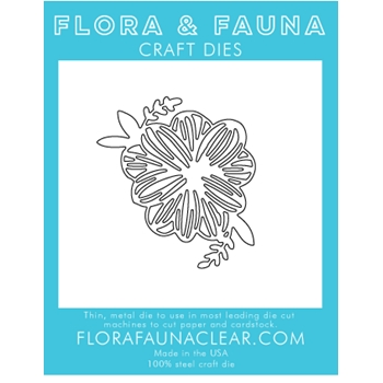 Flora and Fauna SUMMER FLOWER Die 30111