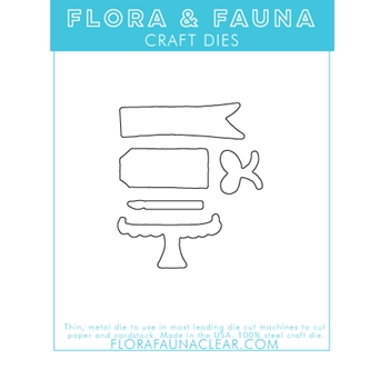Flora and Fauna BRUSH BIRTHDAY Dies 30115