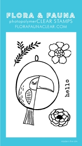 Flora and Fauna MINI TOUCAN Clear Stamps 20257 Preview Image