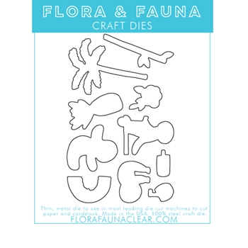 Flora and Fauna SUMMER SLOTH Dies 30114