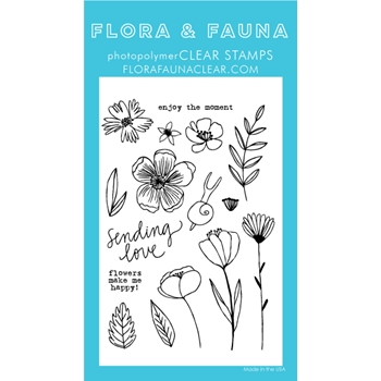Flora and Fauna SUMMER SNAIL Clear Stamps 20250