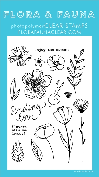 Flora and Fauna SUMMER SNAIL Clear Stamps 20250 zoom image
