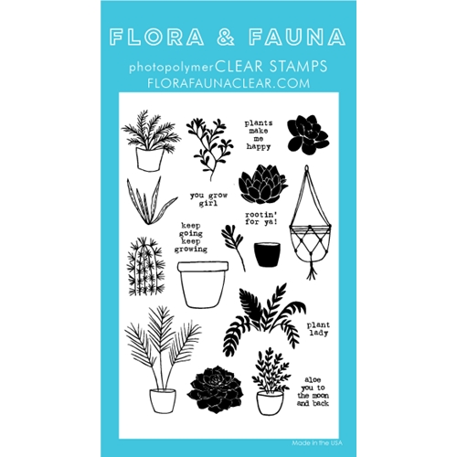 Flora and Fauna PLANT LADY Clear Stamps 20253 Preview Image