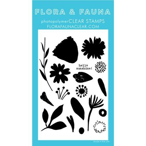 Flora and Fauna BRUSH PETAL 2 Clear Stamps 20247 Preview Image