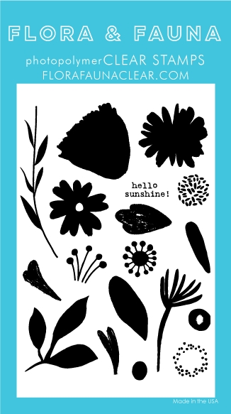 Flora and Fauna BRUSH PETAL 2 Clear Stamps 20247 zoom image