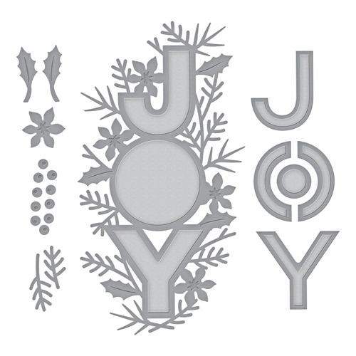 S4-1012 Spellbinders JOY Etched Dies  Preview Image